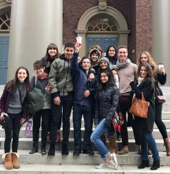 Group photo of students at MIT Splash
