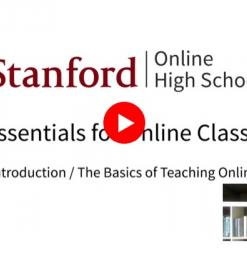 Essentials - The Basics of Teaching Online - Introduction