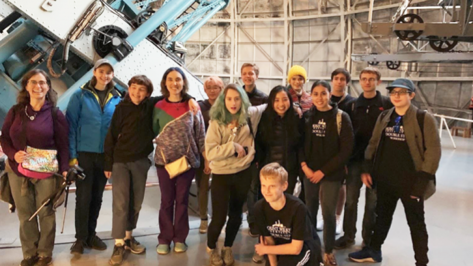 Mount Wilson Observatory Research Trip